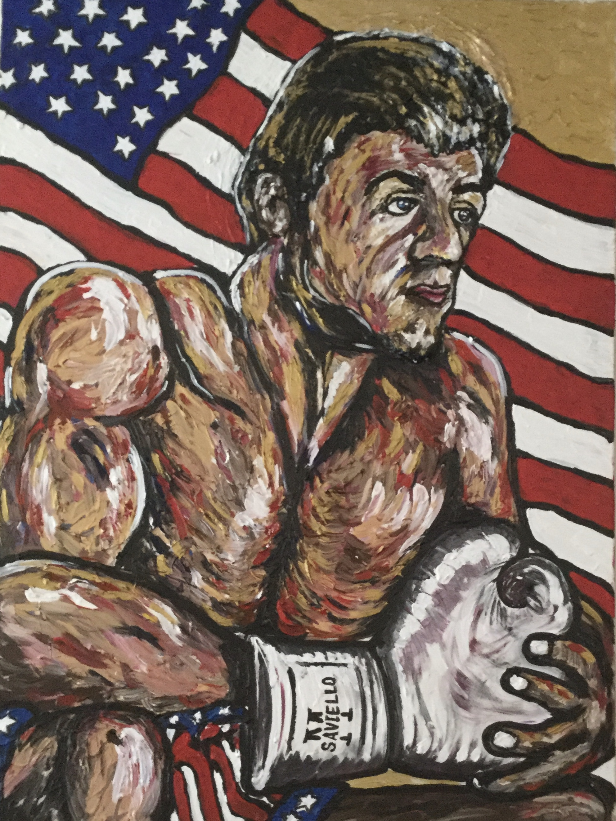 Rocky artwork by Michael Saviello - art listed for sale on Artplode