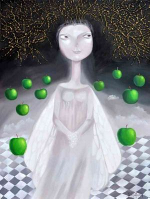 Magic night, art for sale online by Yelena Dyumin