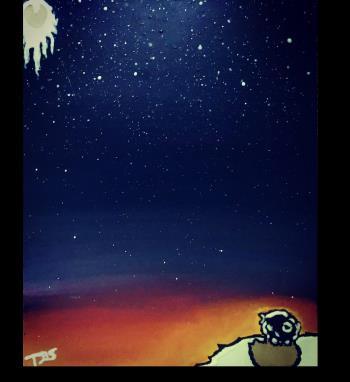 awareness V GLOW artwork by The Black Sheep