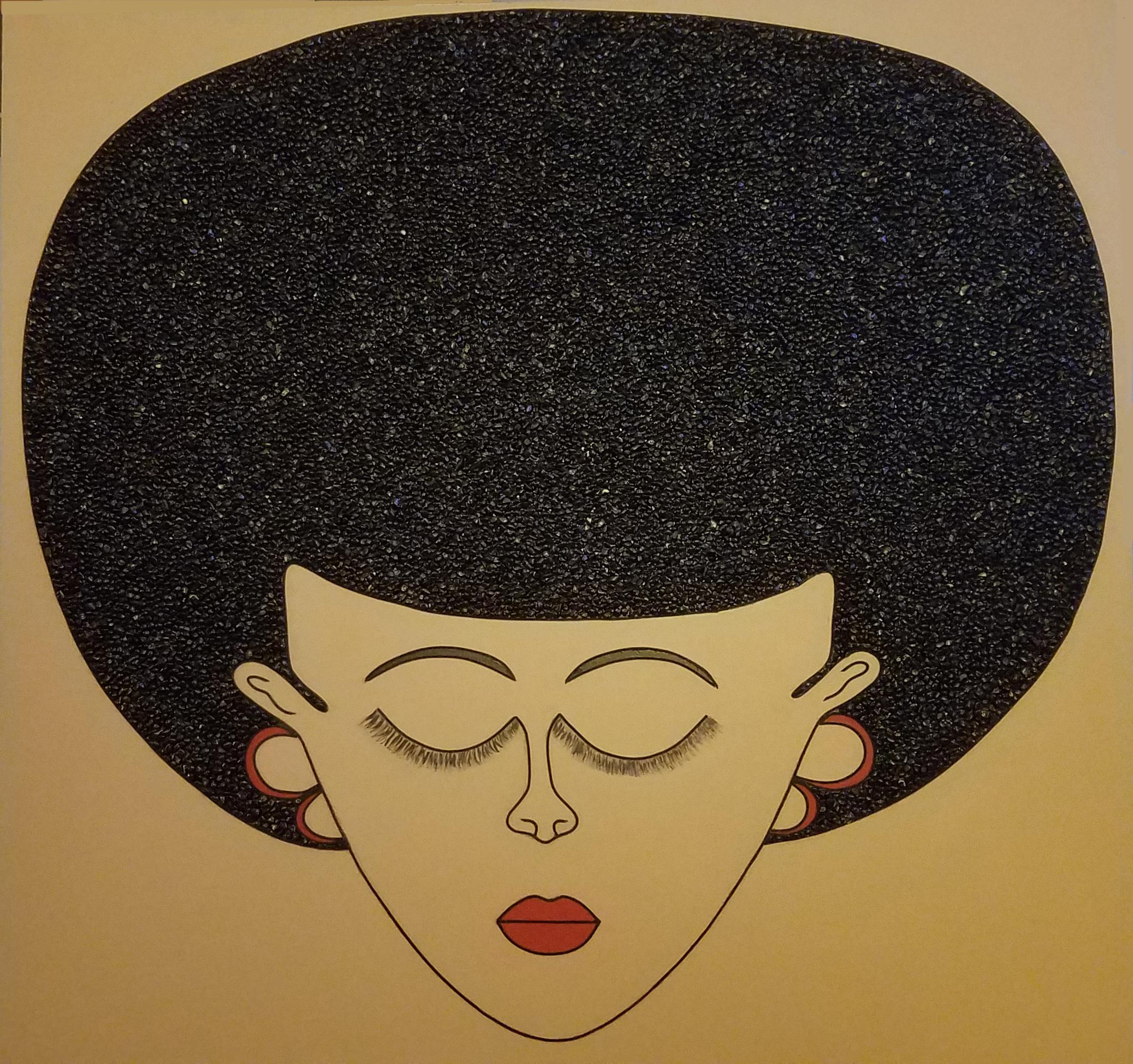 EBONEE artwork by JANICE - art listed for sale on Artplode