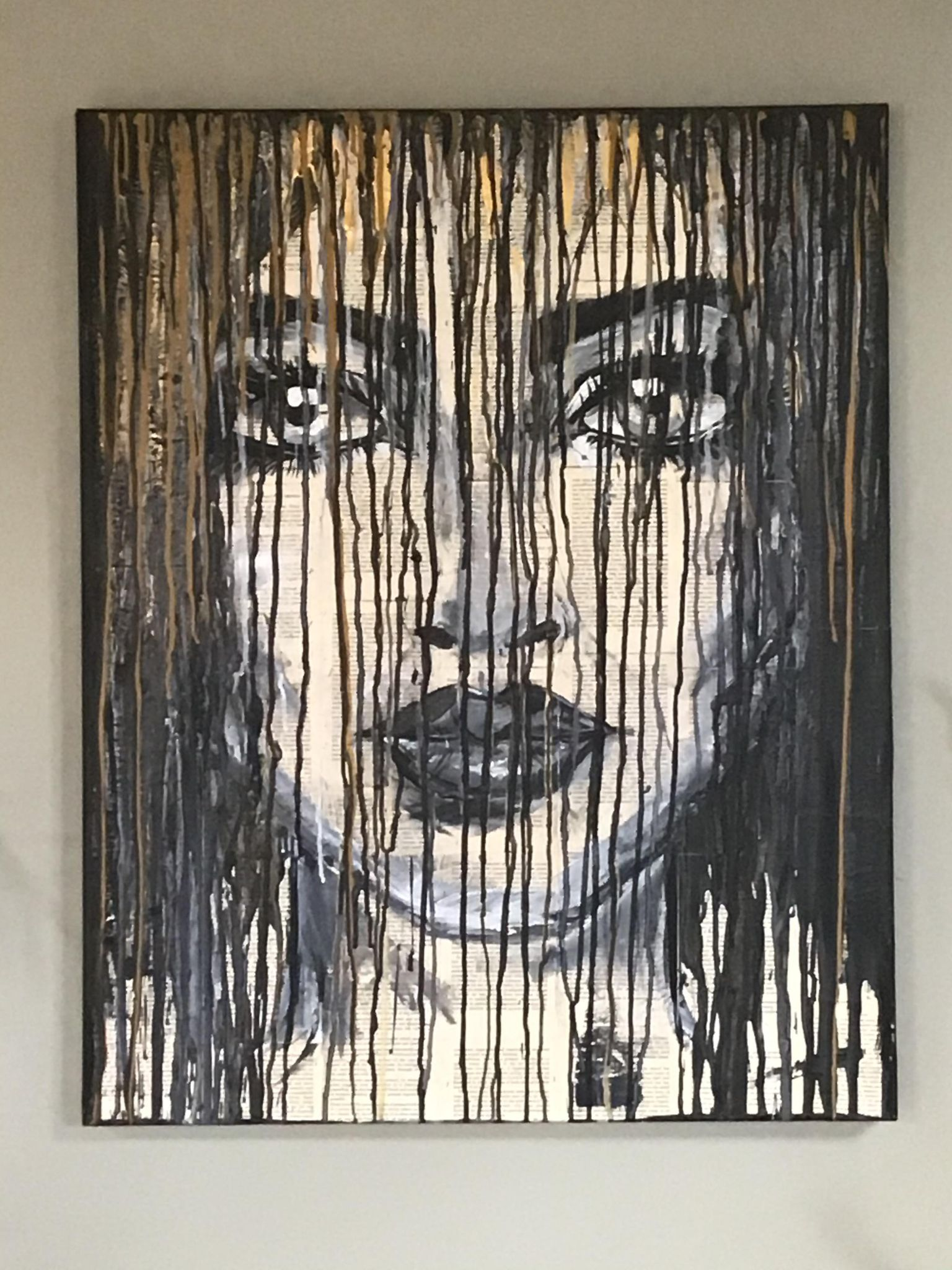 Reading Between The Lines artwork by Cabby Louise - art listed for sale on Artplode