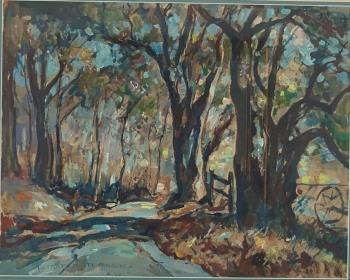 Country Road, art for sale online by William Lester Stevens