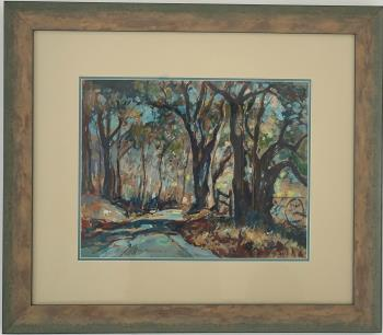 Country Road artwork by William Lester Stevens