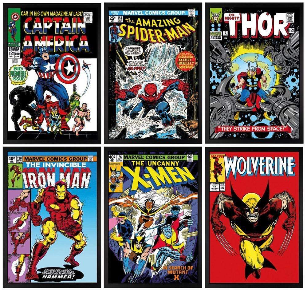 Marvel Portfolio artwork by Stan Lee - art listed for sale on Artplode