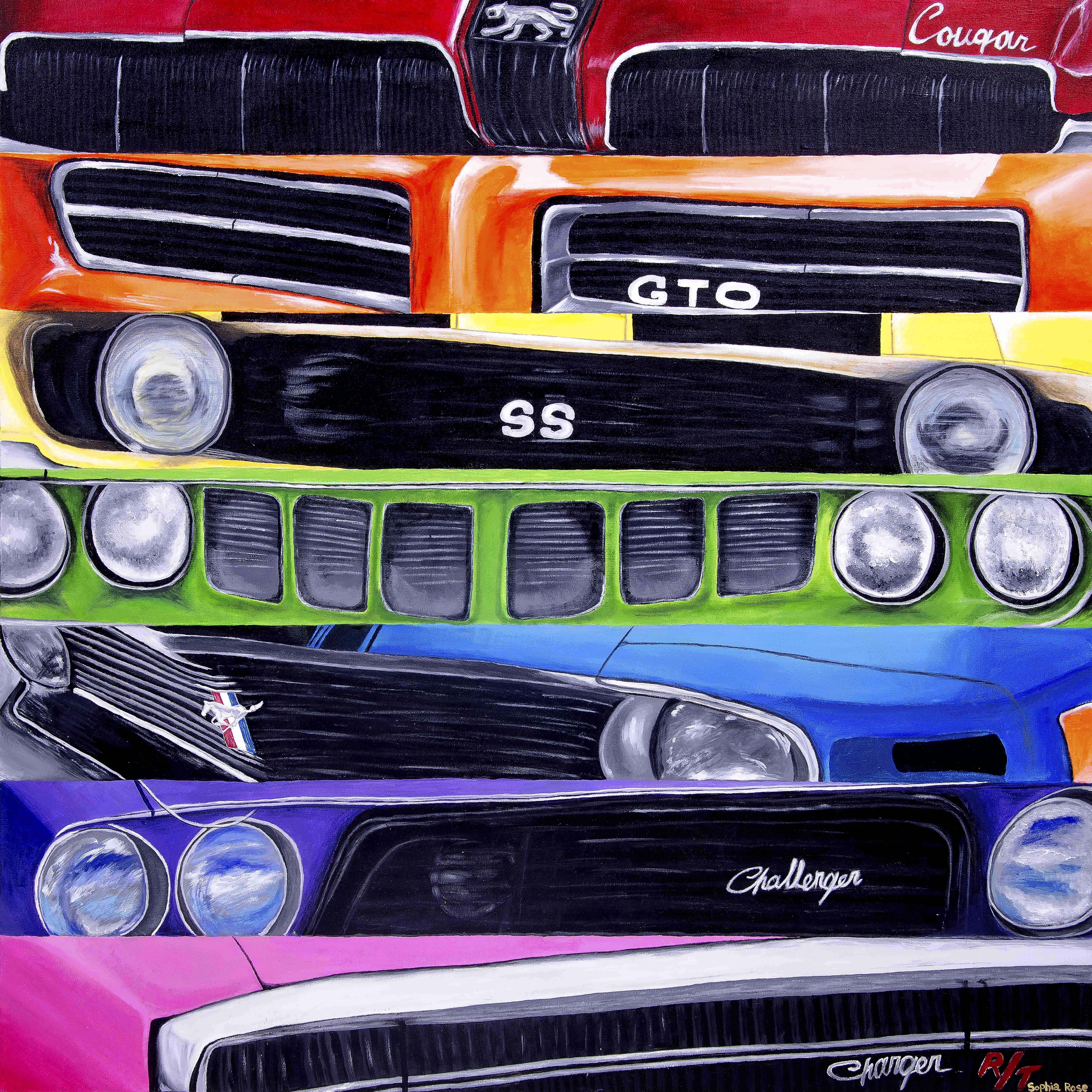 Spectrum artwork by Sophia Rose - art listed for sale on Artplode