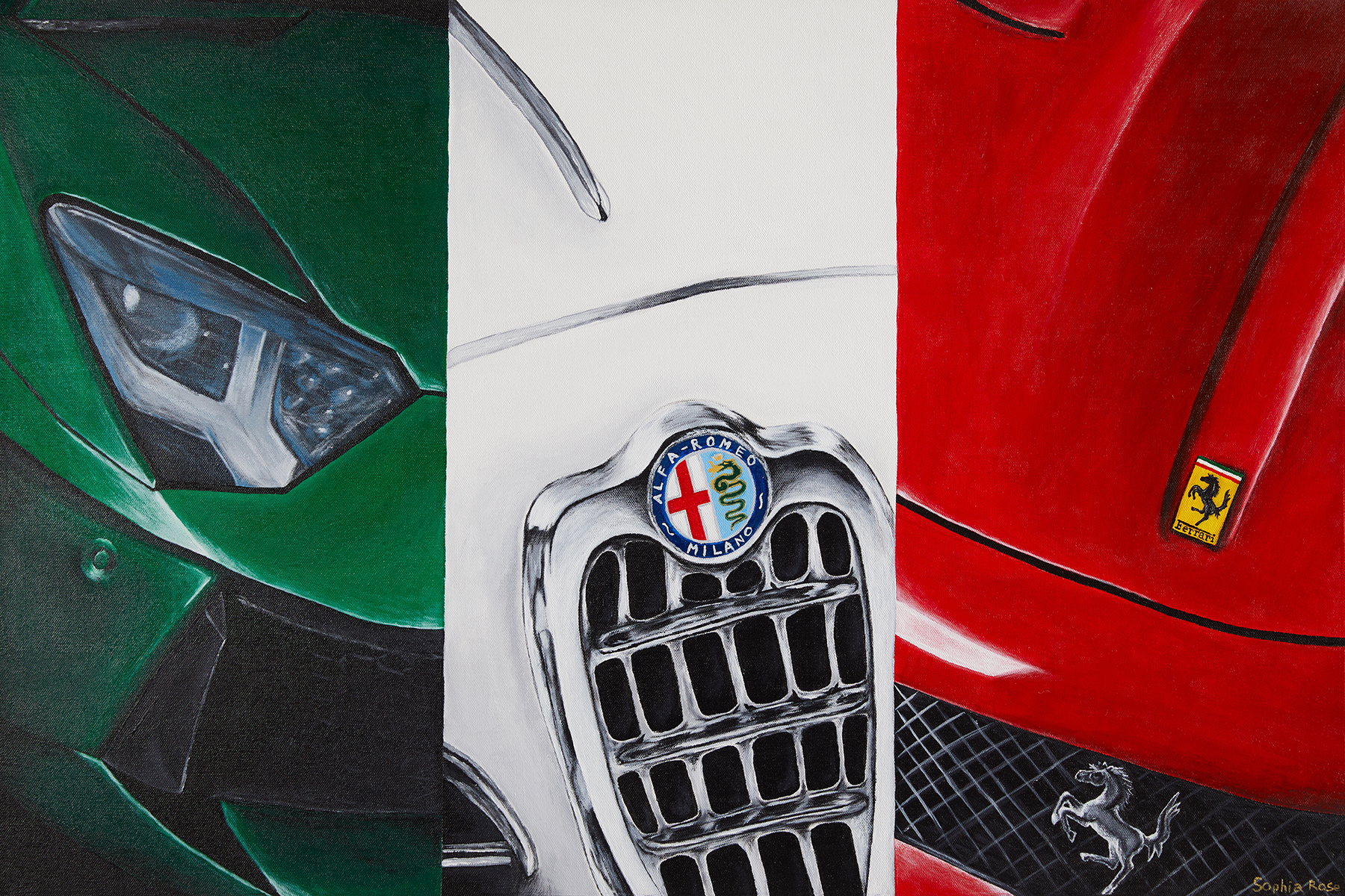 Passione artwork by Sophia Rose - art listed for sale on Artplode