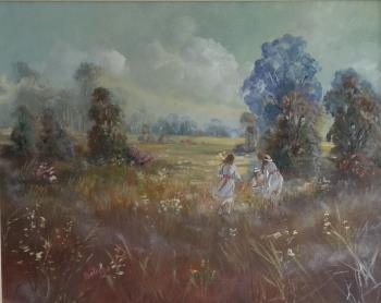 Hazy Spring Morning, art for sale online by Lucette Dalozzo