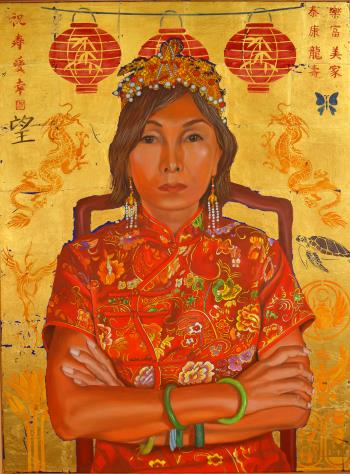 Made in China, art for sale online by Thu Nguyen