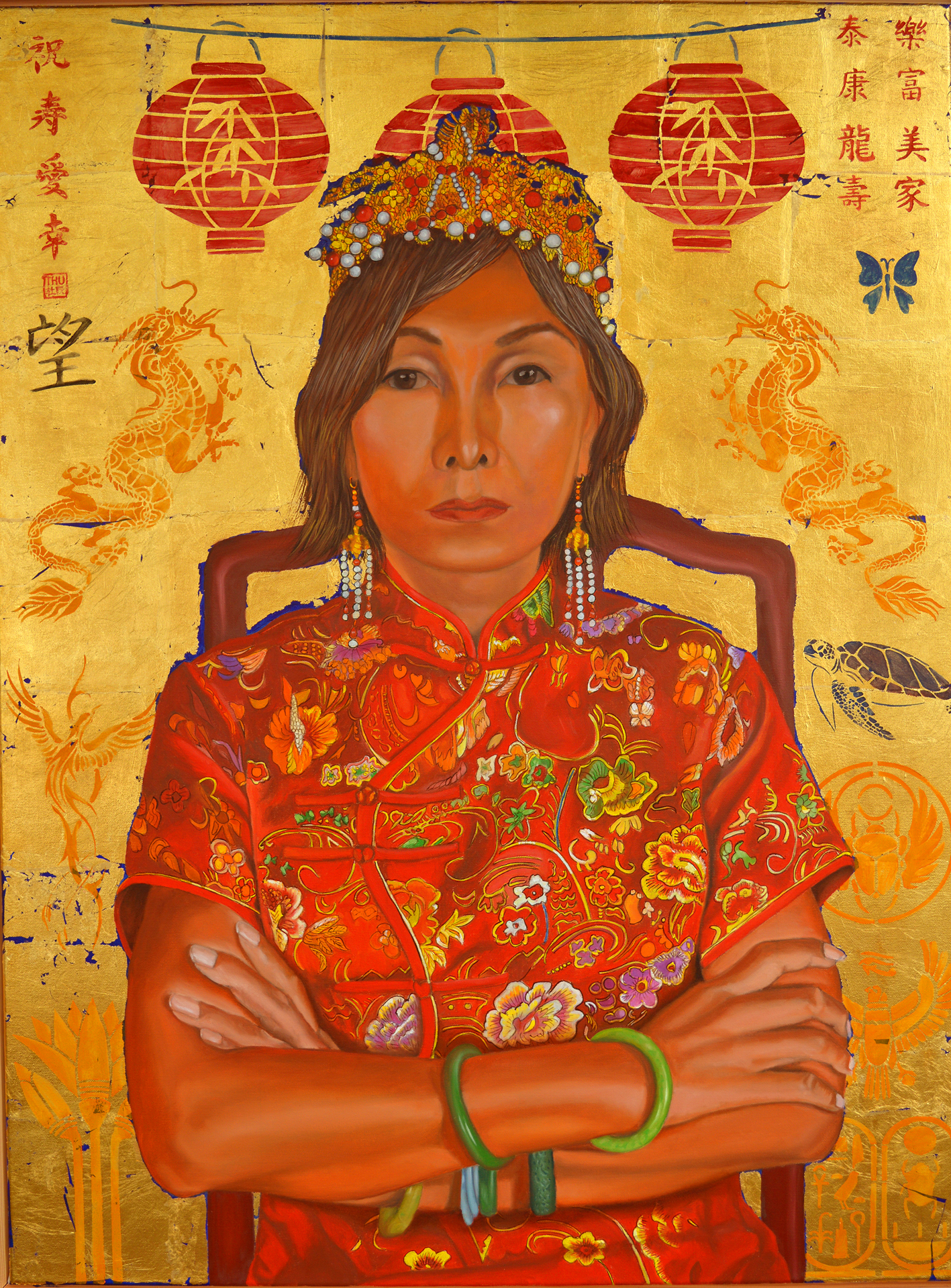Made in China artwork by Thu Nguyen - art listed for sale on Artplode