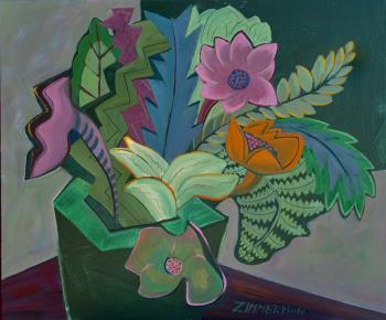 Tropical Fantasy 7, art for sale online by Marc Zimmerman