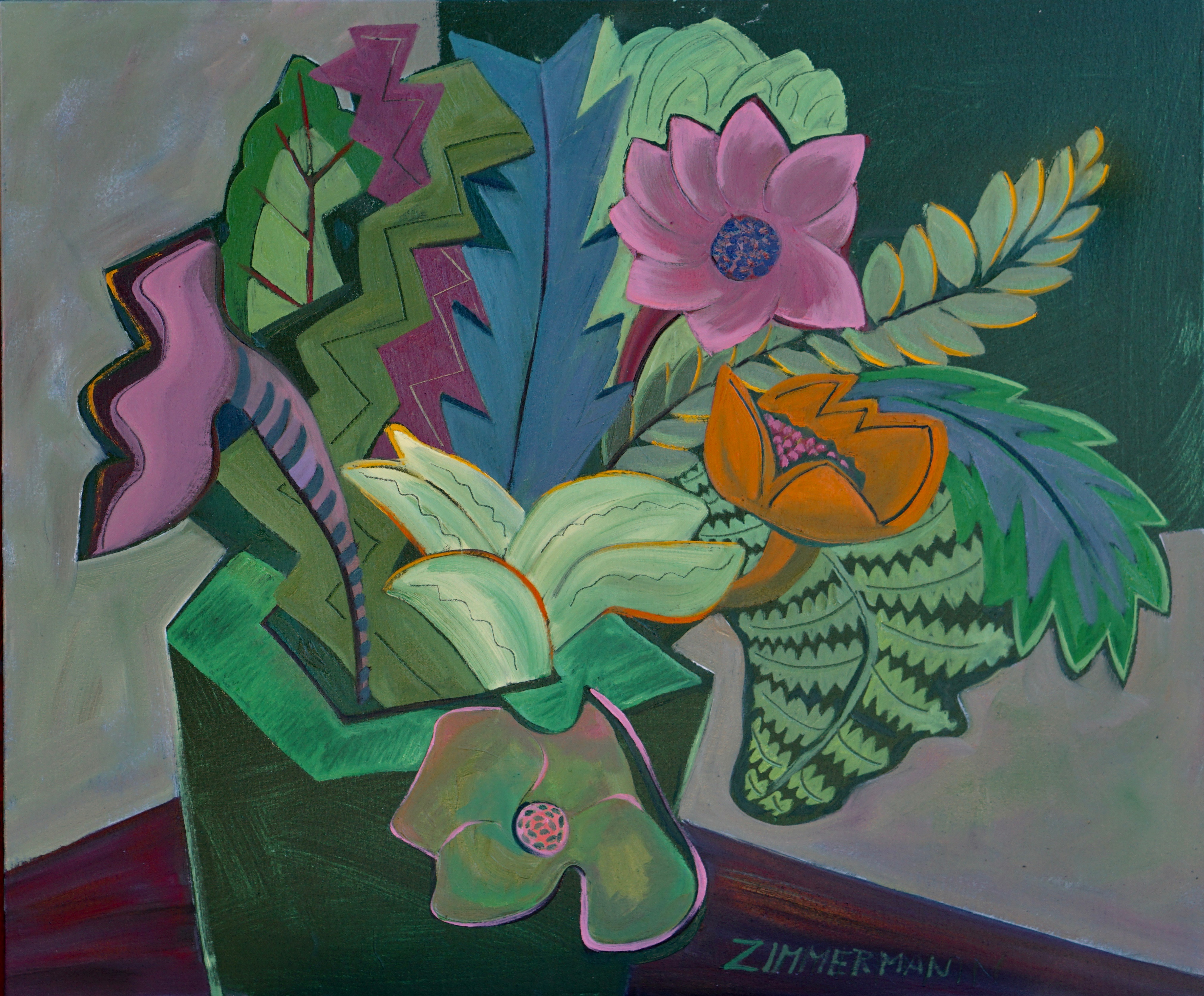 Tropical Fantasy 7 artwork by Marc Zimmerman - art listed for sale on Artplode