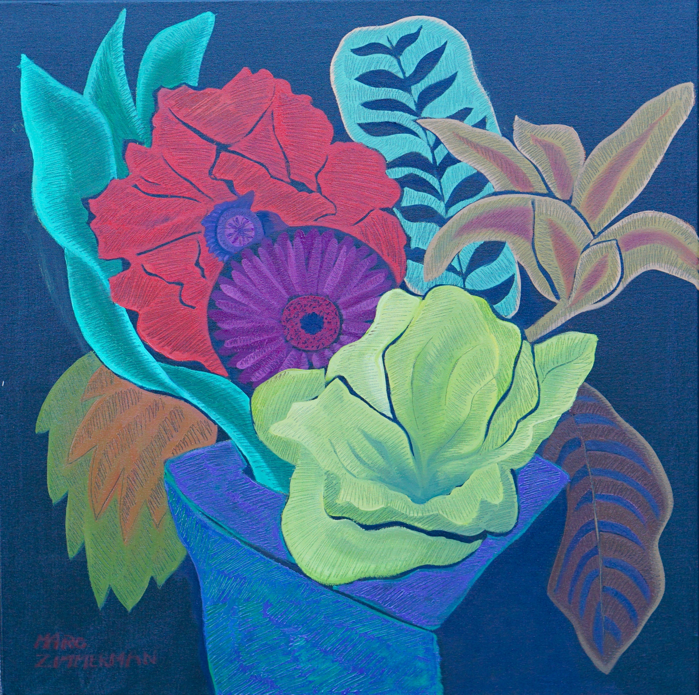 Tropical Fantasy 1 artwork by Marc Zimmerman - art listed for sale on Artplode