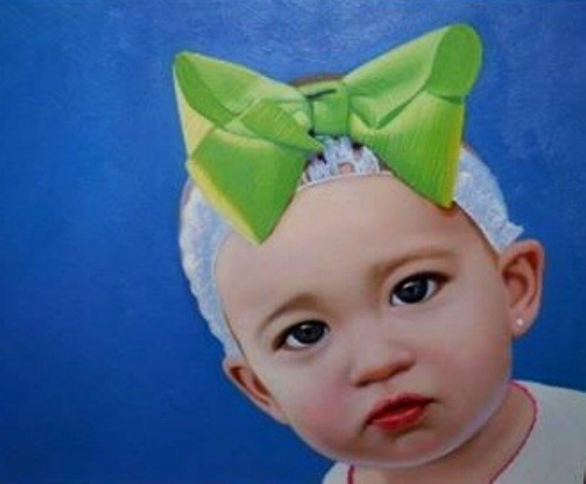 Baby girl artwork by Mik Goben - art listed for sale on Artplode