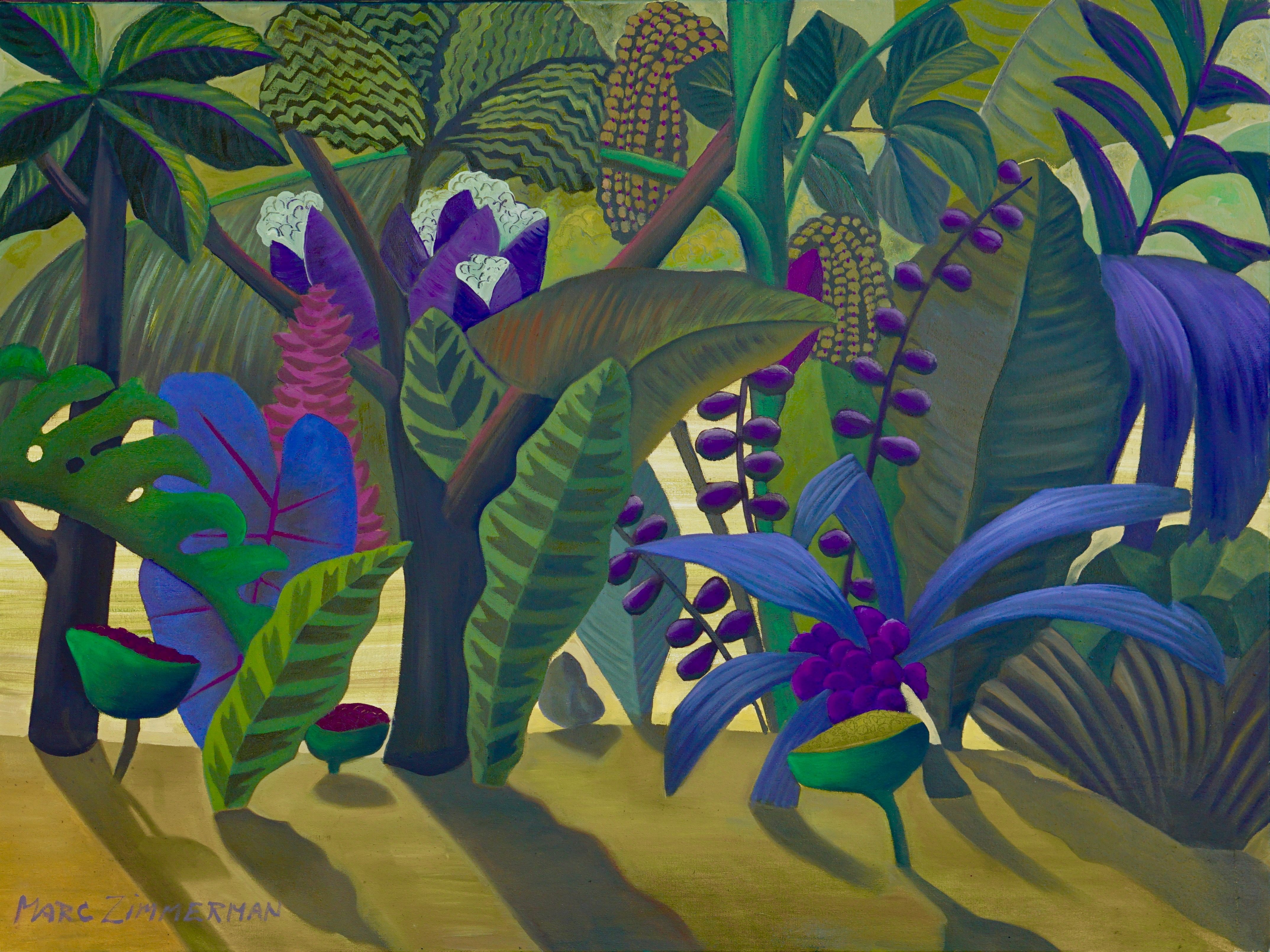 Surreal Jungle artwork by Marc Zimmerman - art listed for sale on Artplode