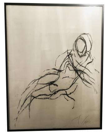 Nude artwork by Francine Turk
