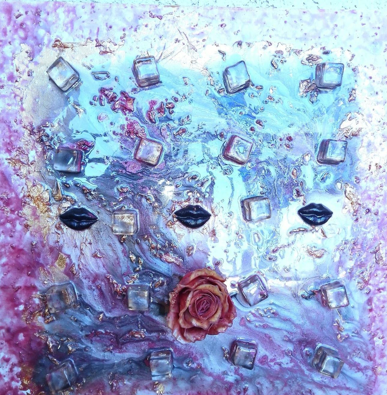 Read My Lips artwork by Natalie Senenfelder - art listed for sale on Artplode