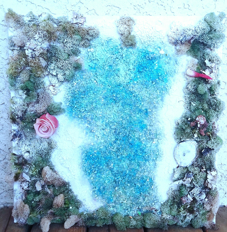 Tahoe artwork by Natalie Senenfelder - art listed for sale on Artplode