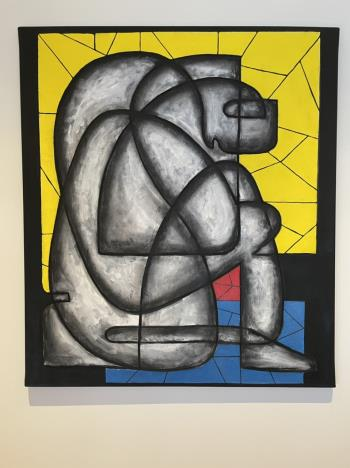 L homme qui pleure , art for sale online by JeanLuc Feugeas