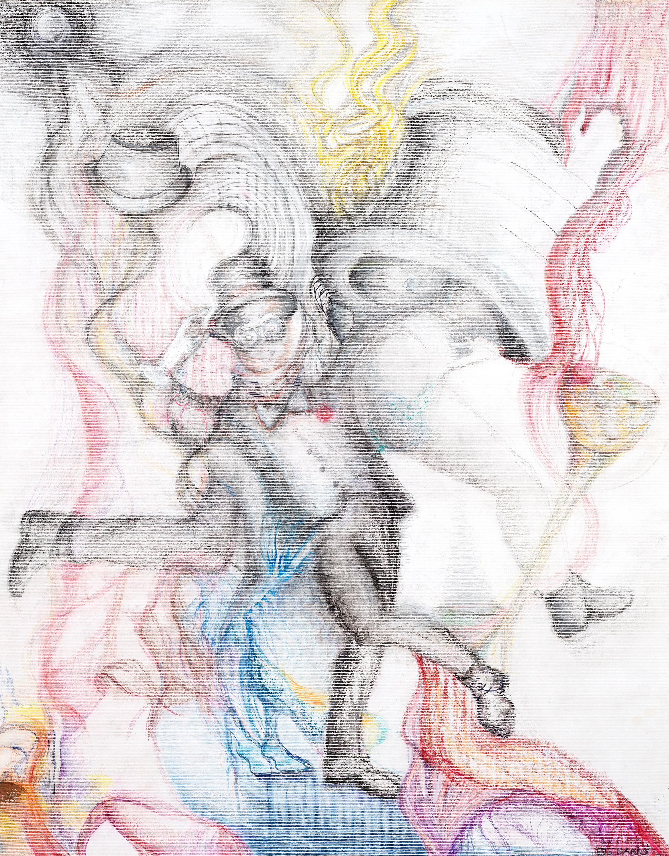 Tuxedo artwork by Barbara E Barry - art listed for sale on Artplode