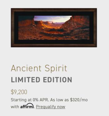 Ancient Spirit Canyonlands NP Utah artwork by Peter Lik - art listed for sale on Artplode