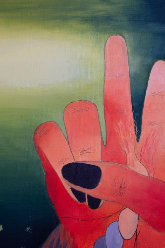 Peace artwork by Artist Phebean - art listed for sale on Artplode