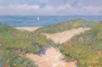 Summer Dunes , art for sale online by David Schock