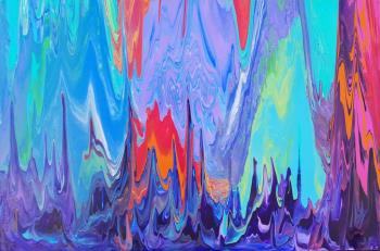 Flow Through It artwork by Jenica Swetzer - art listed for sale on Artplode