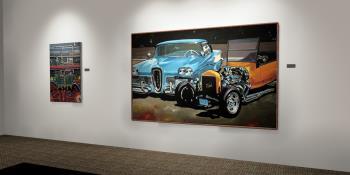 car series artwork by David Lloyd - art listed for sale on Artplode