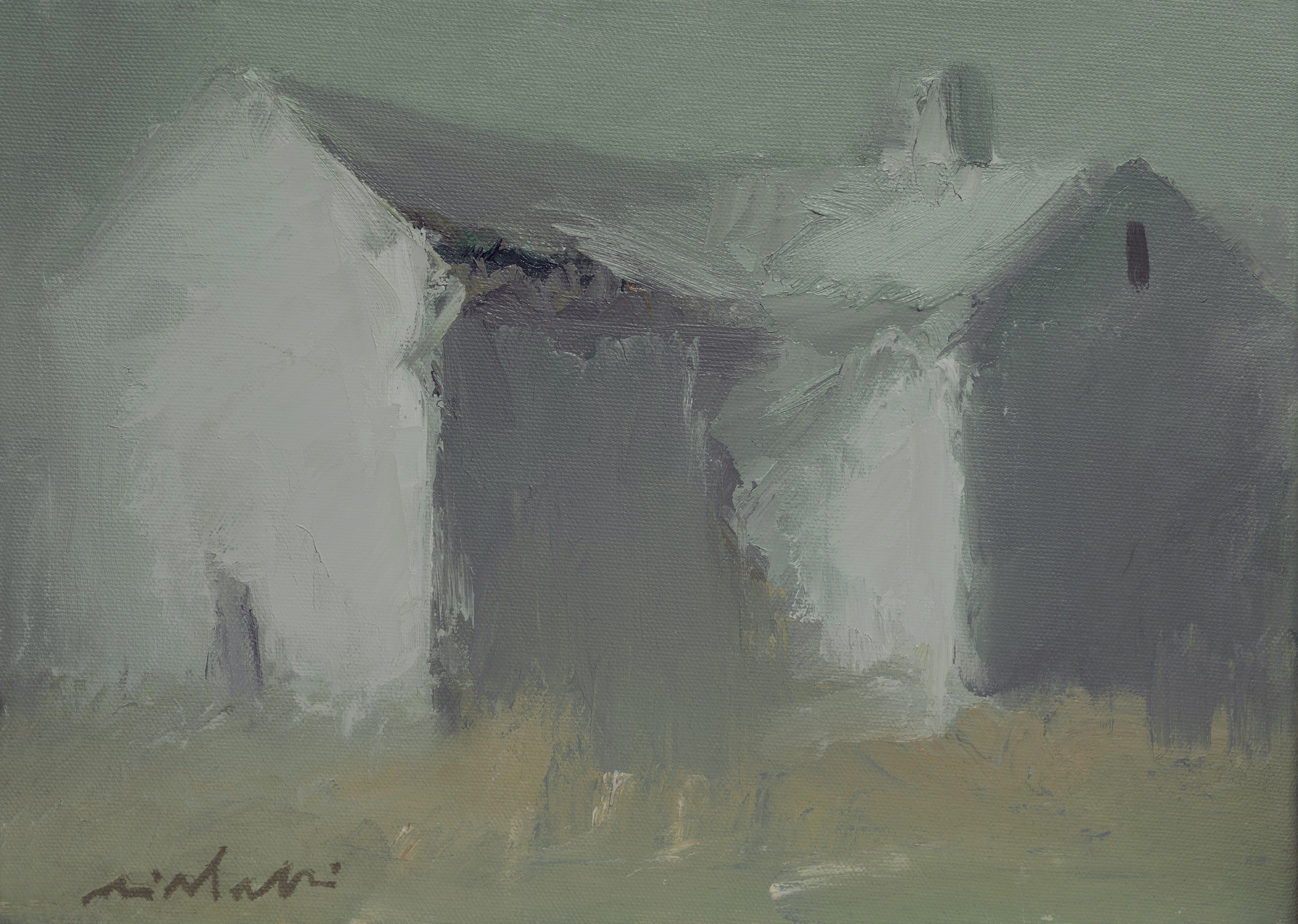 April Showers artwork by Victor Mirabelli - art listed for sale on Artplode