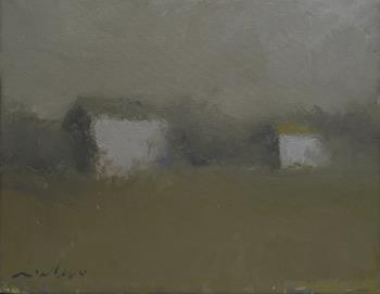 Farm Sheds, art for sale online by Victor Mirabelli