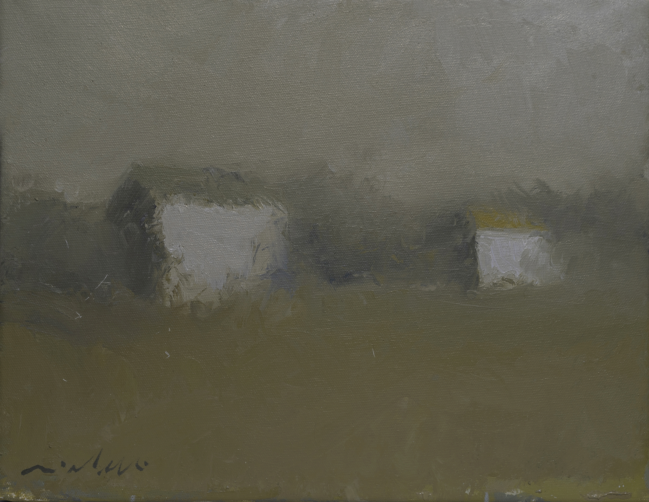 Farm Sheds artwork by Victor Mirabelli - art listed for sale on Artplode
