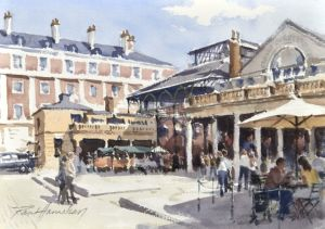 Covent Garden Market, art for sale online by Paul Hanrahan