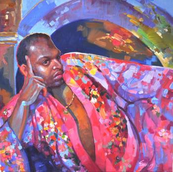 Desdemonas Robe artwork by Emiliya Lane