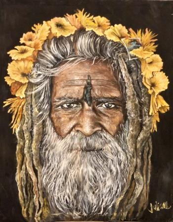 Yellow, art for sale online by Juliana Celiz