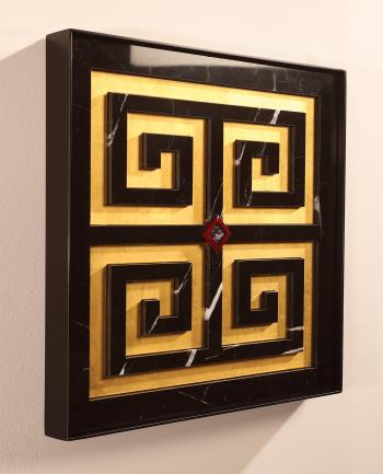 Nero Key, art for sale online by Santo Stone Studio