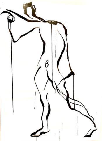 Untitled Nude, art for sale online by Francine Turk
