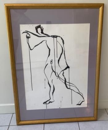 Untitled Nude artwork by Francine Turk - art listed for sale on Artplode