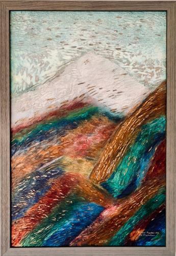 Rainbow Mountain, art for sale online by Alex Shayhutdinov