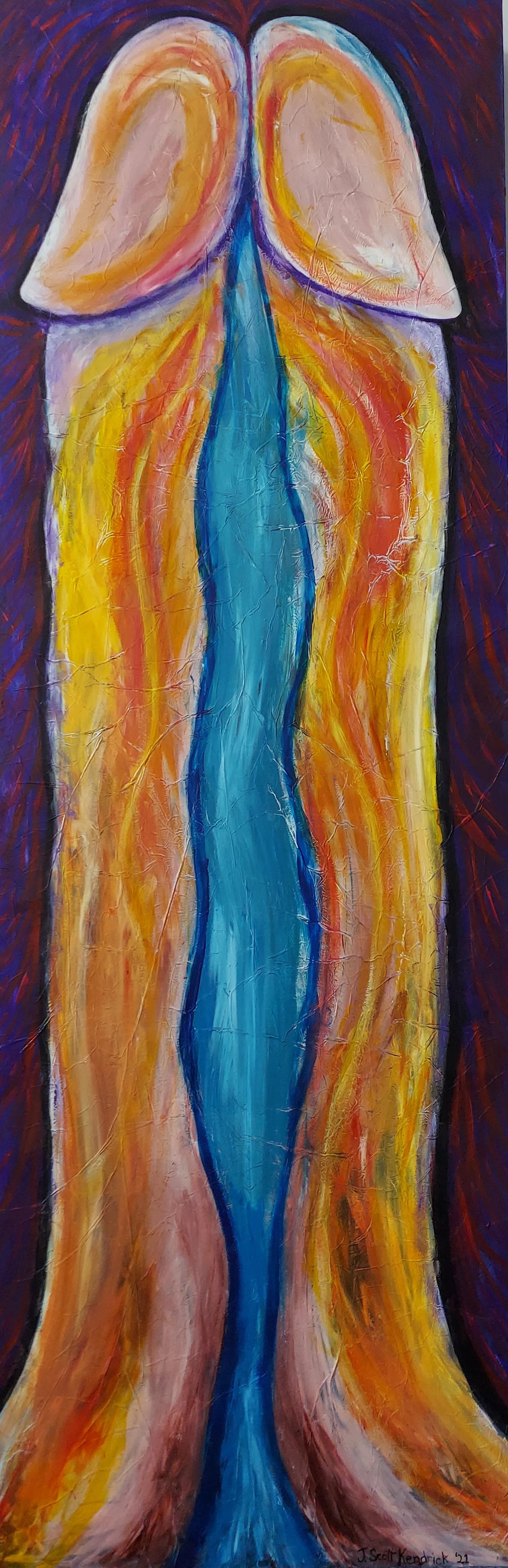 A River Runs Through It artwork by J Scott Kendrick - art listed for sale on Artplode