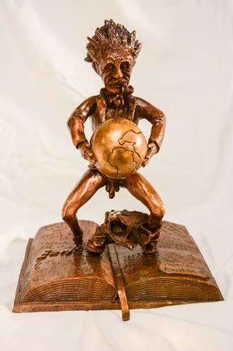 Philandering Einstein, art for sale online by Dillon Byers