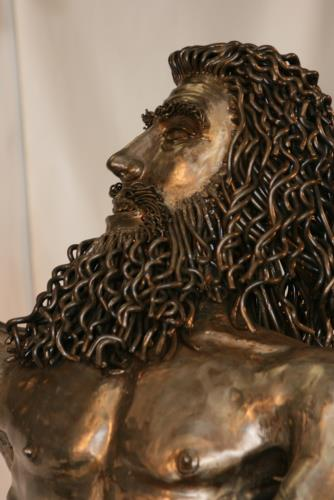 King Nebuchadnezzar II artwork by Russell Blackwell - art listed for sale on Artplode