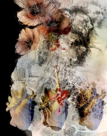 THE DAY HIS HEART AND MIND BROKE AT THE SAME TIME II, art for sale online by Lize Kruger
