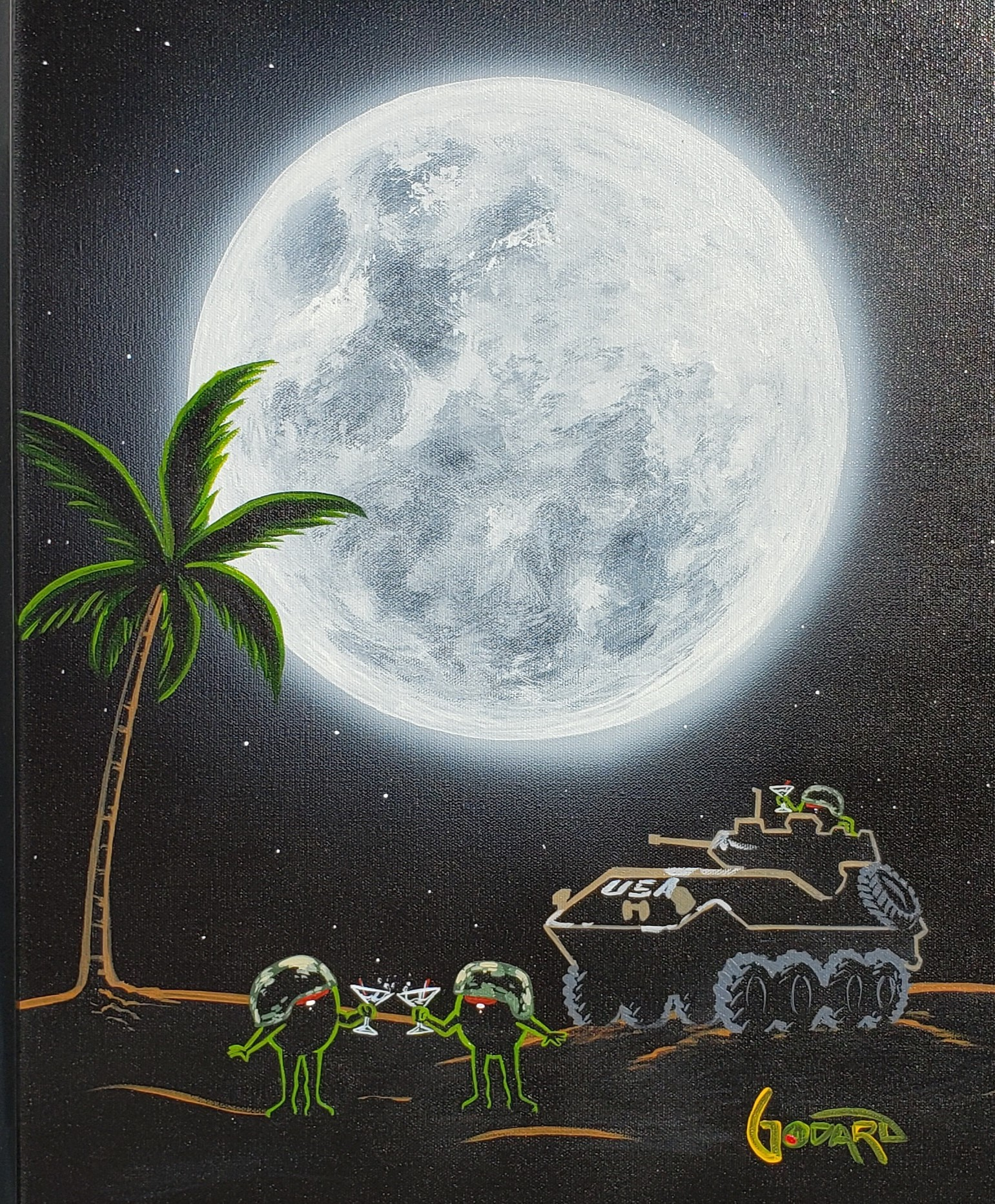 Tank Tini artwork by Michael Godard - art listed for sale on Artplode