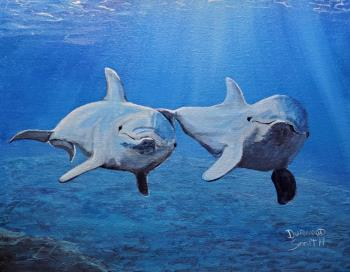 Inseparable, art for sale online by Durwood Smith