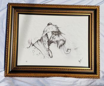 Sherlock artwork by Nano Lopez - art listed for sale on Artplode