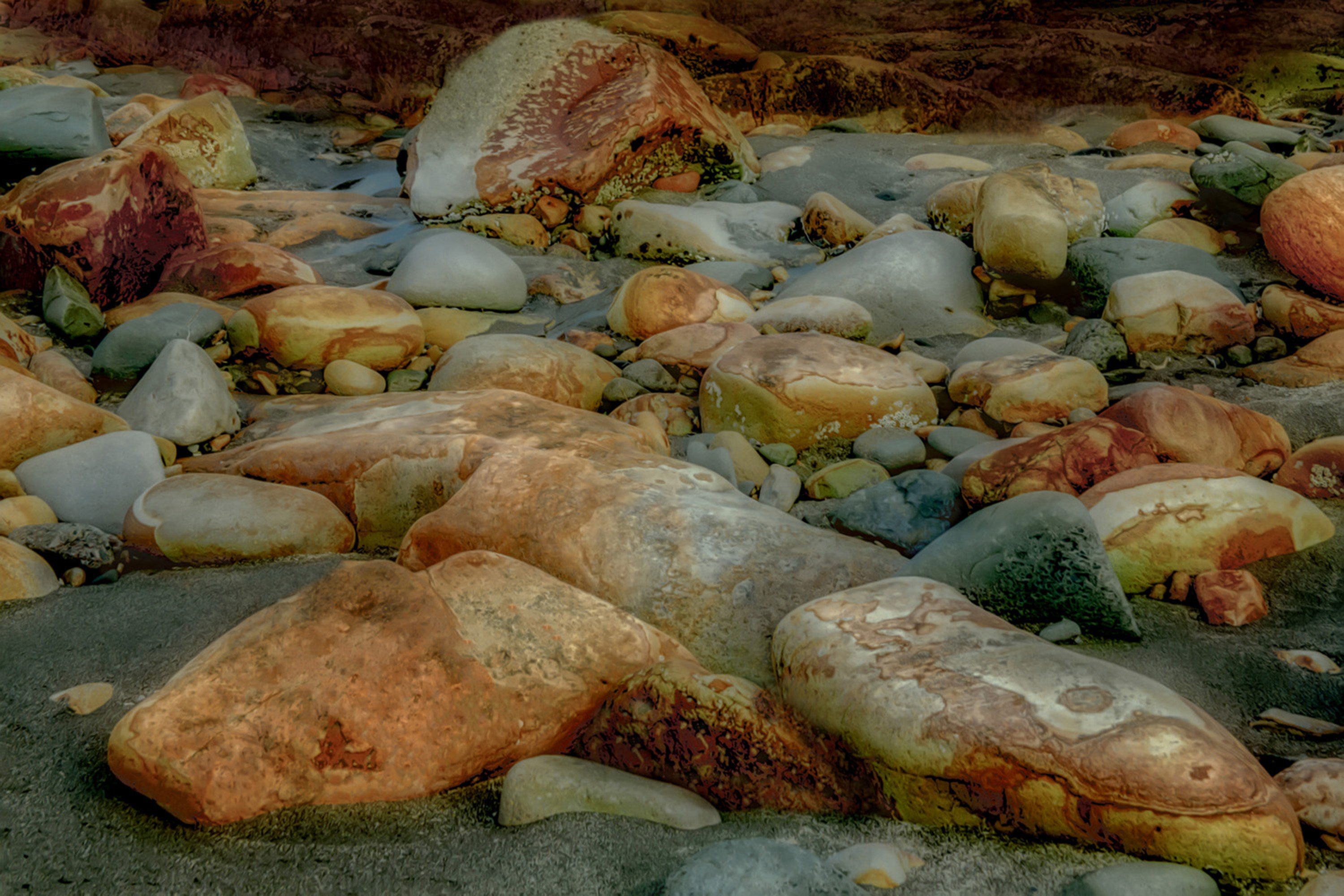 A Gathering on the Shore artwork by Tim Thompson - art listed for sale on Artplode