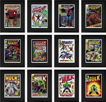 Marvel Superheroes Set of 12 Editions Giclee on Paper Edition 9 of 295, art for sale online by Stan Lee