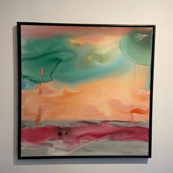 17pm at Long Beach, art for sale online by Giovanna Vilela