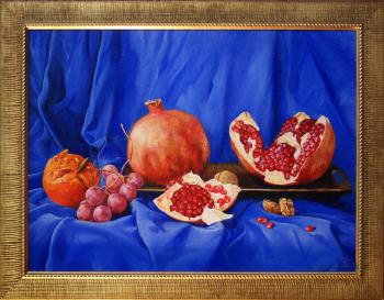 Still life with pomegranate , art for sale online by Daria Tikhomirova