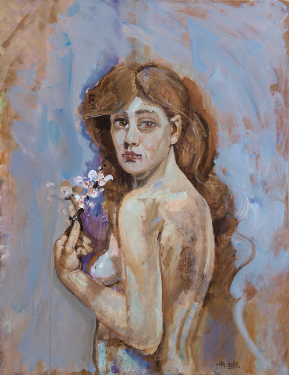 Flora artwork by Anton Antonov - art listed for sale on Artplode